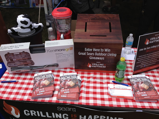 Grilling Is Happiness Tent
