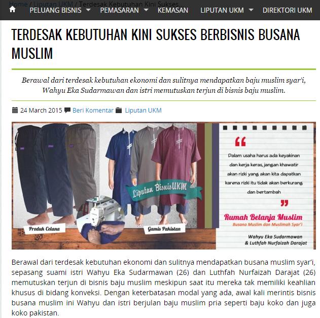 Liputan Rumah Belanja Muslim