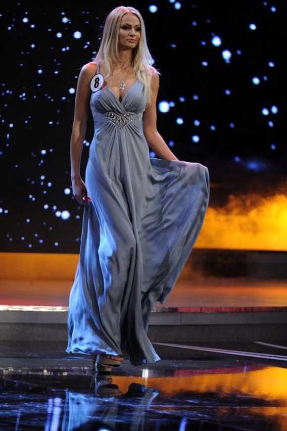 بالصور: ملكة جمال الارض 2012
