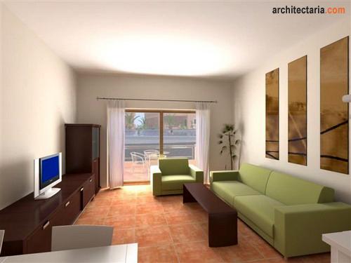 Dekorasi Ruang Tamu Minimalis 2012
