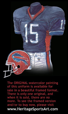 Buffalo Bills 2002 uniform