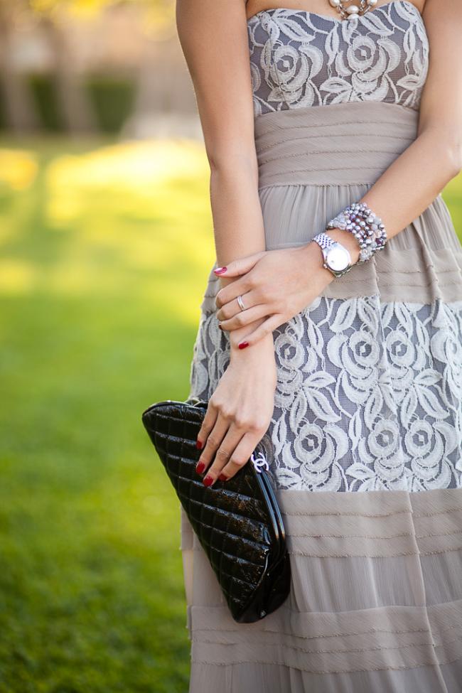 chanel timeless clutch rolex watch formal dress accessories