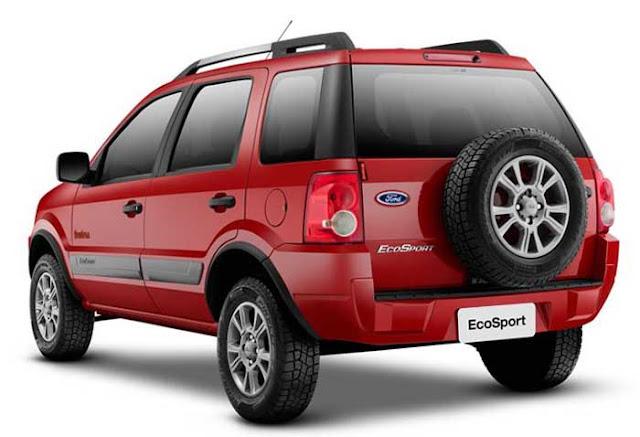 Nova Ford EcoSport 2011 FreeStyle - consumo - quatro rodas
