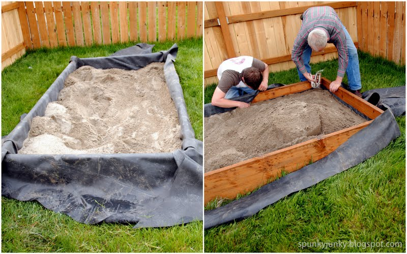 Spunky junky build your own babysitter for Diy cheap pond liner