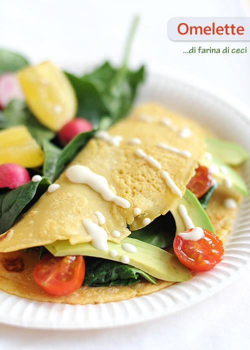 Omelette di farina di ceci fiordizucca cibo ricette html for Ricette di cibo