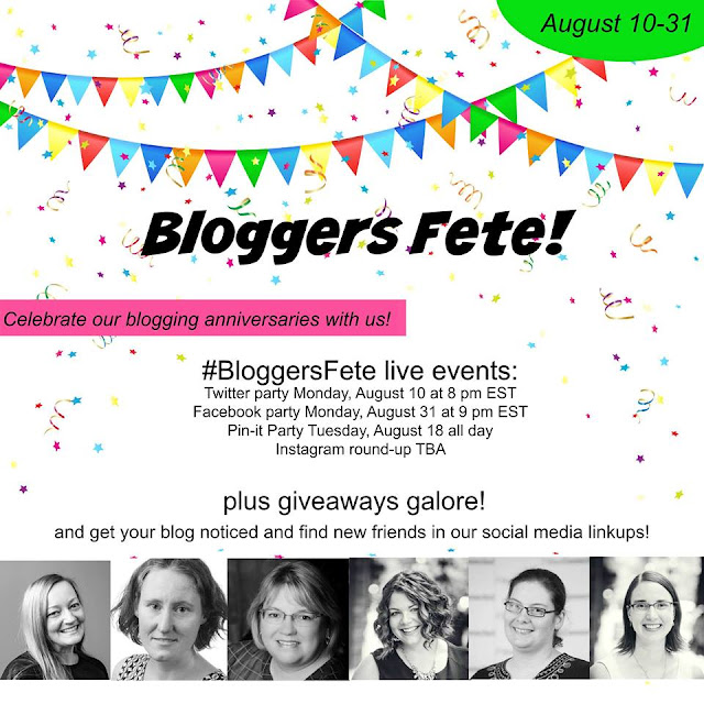 #bloggersfete, blogiversary, twitter party, tales of mommyhood, @tlsofmommyhood