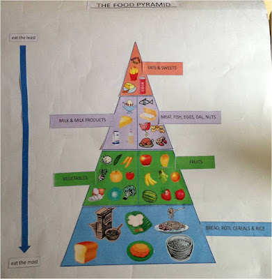 Make your own food pyramid