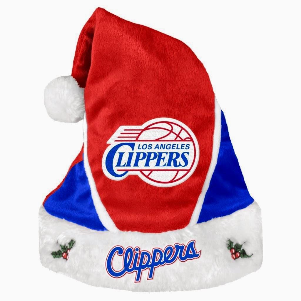 Los Angeles Clippers NBA Santa Hat