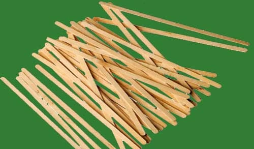 palitos de madera para hacer barco