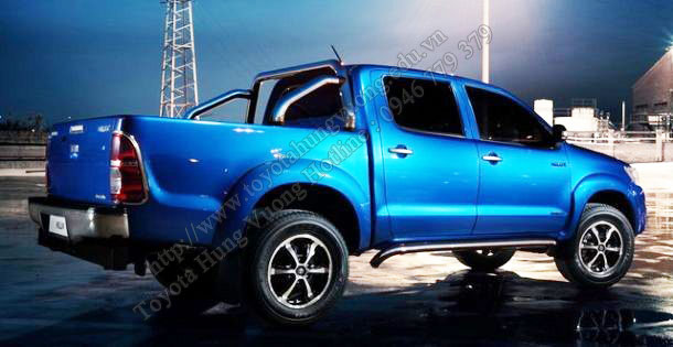 Phien ban toyota hilux 2015 moi