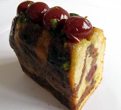 Un Dimanche à Paris - Cake cerise-griotte