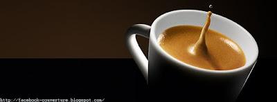 Couverture Facebook Avec Tasse de Café