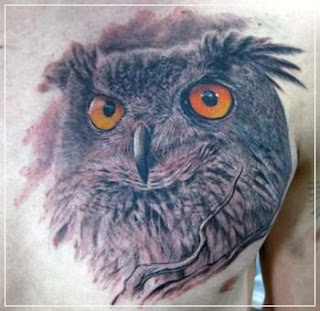 Tattoo Owl  Design