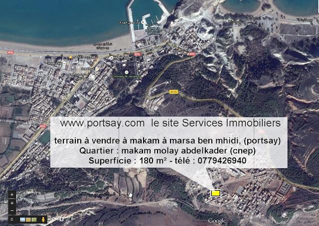 terrain à vendre à makam à porsay, (cnep)