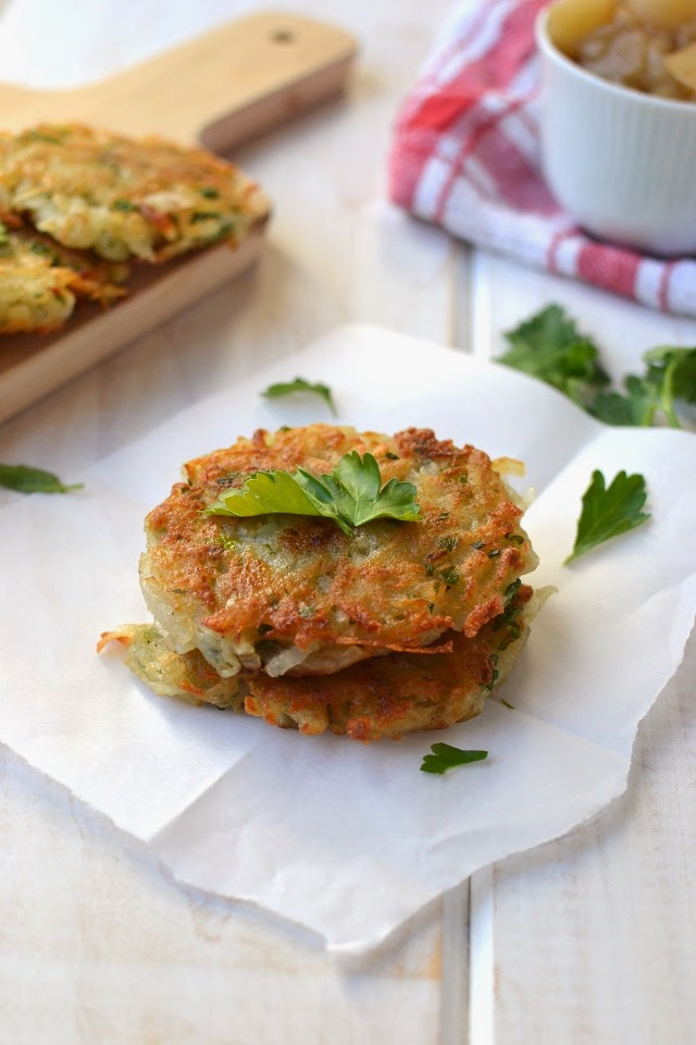 Potato Latkes (Eggless vegan recipe)
