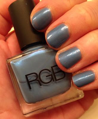 RGB, RGB Cosmetics, RGB Cosmetics Cerulean, nails, nail polish, nail varnish, nail lacquer, mani, manicure, #manimonday, mani monday