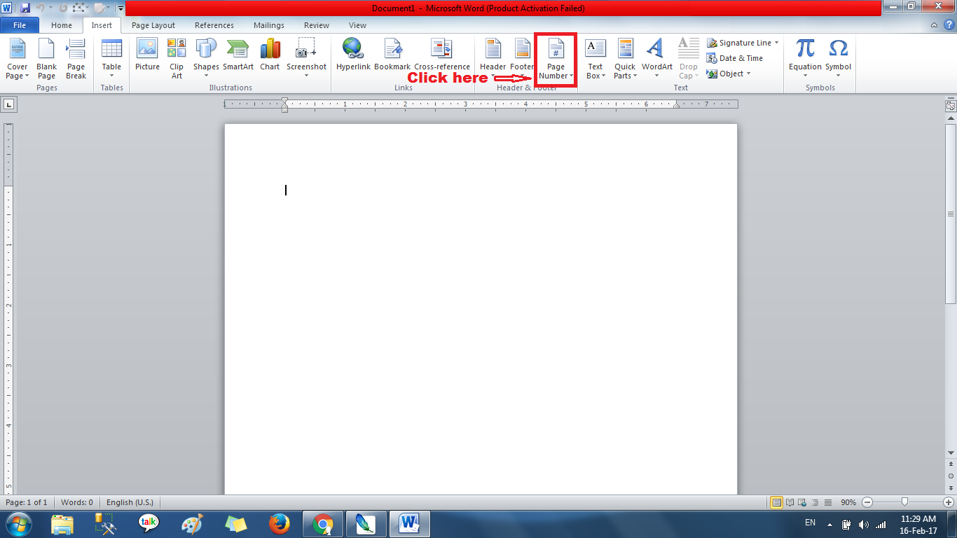 How To Add A Page In Word Document Insert Click Options Options How To Add