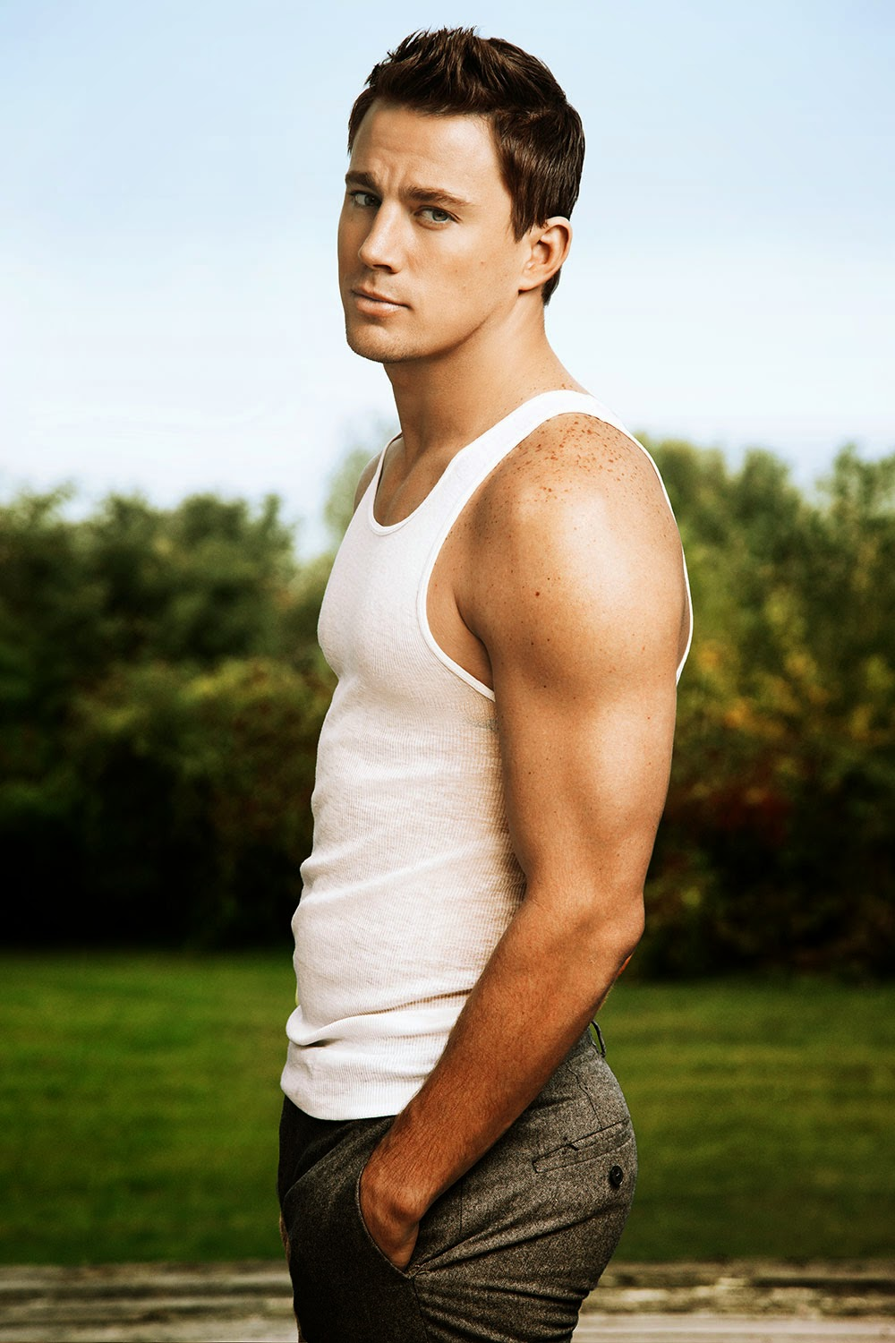 MOST BEAUTIFUL MEN: CHANNING TATUM Channing Tatum