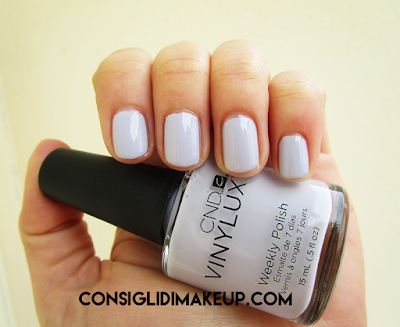 swatch smalto thistle thicket 184 cnd vinylux