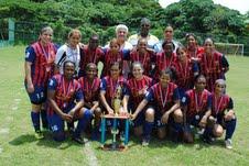 Barcelona se corona campeón de la  III copa femenina Independencia Fútlbol