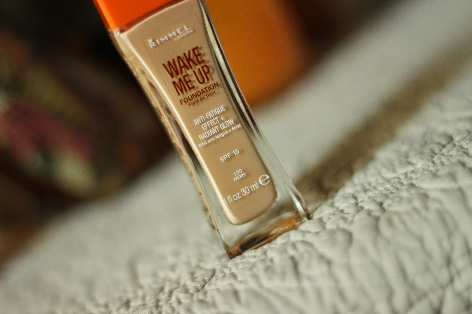 review rimmel wake me up foundation