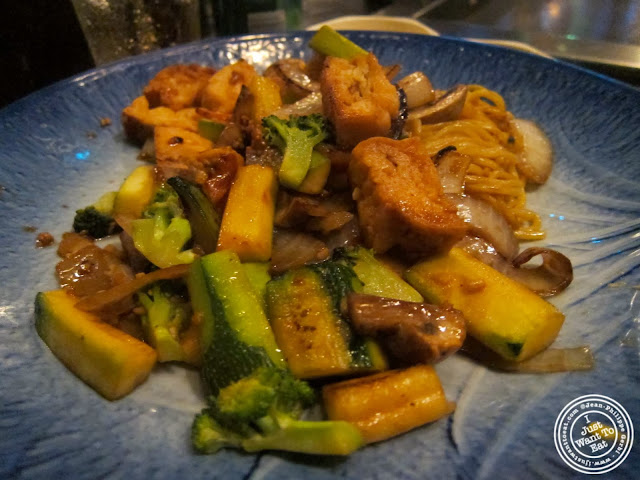 image of tofu hibachi at Ayame in Hoboken, NJ