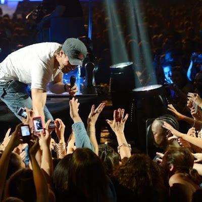 Enrique Iglesias India tour 2012