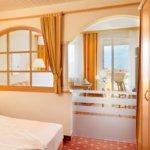 Zimmer im Hotel Stachelburg in Partschins