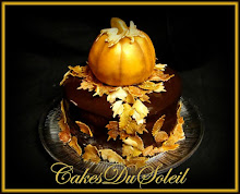 Guilded Pumpkin Cake