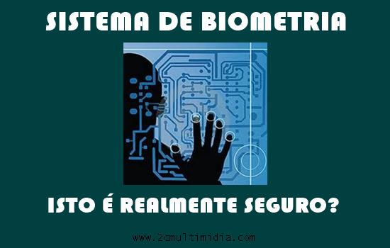 Urnas biométricas: isto é realmente seguro?