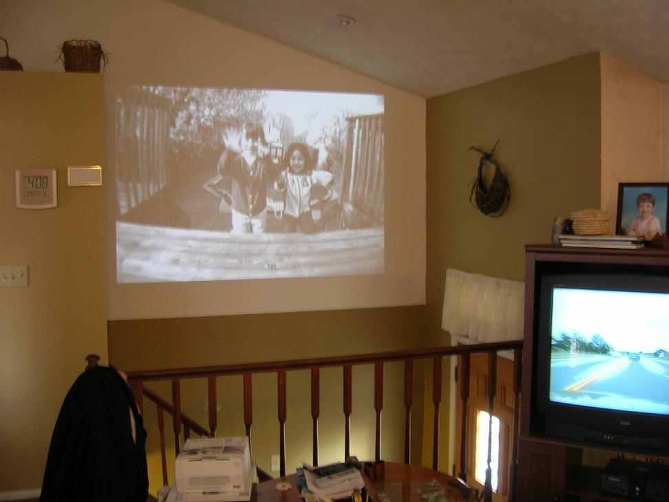 if you want a video projector to check out click here to see what i