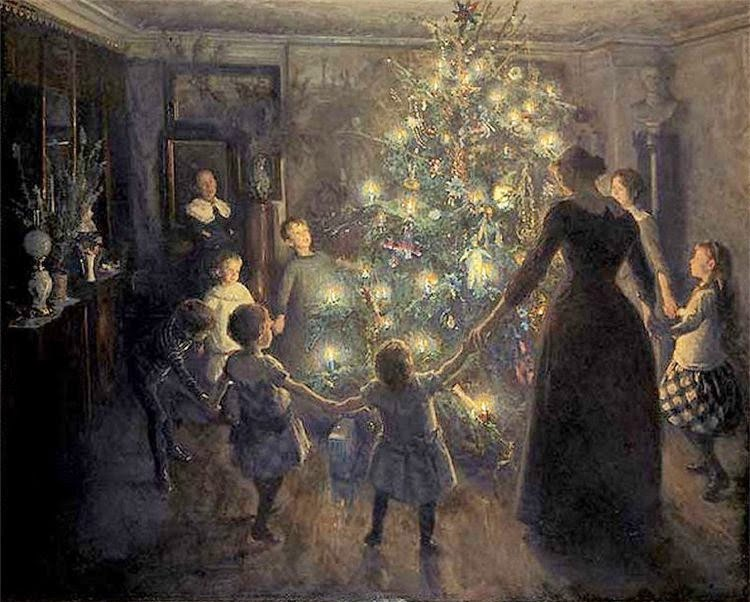 Origin of the Christmas Tree