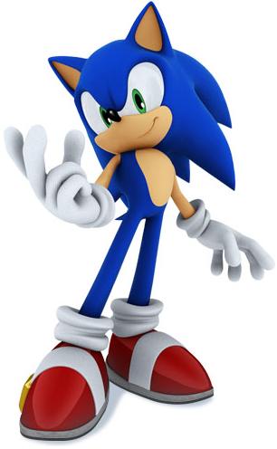 Sonic the hedgehog est un personnage de jeu video et le personnage
