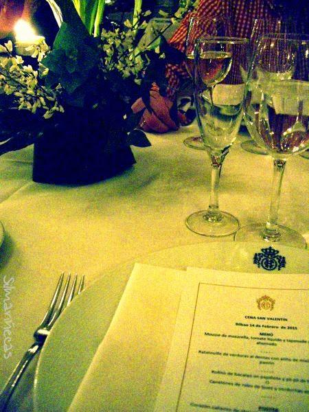 san valentín 2015 cena en el hotel Carlton