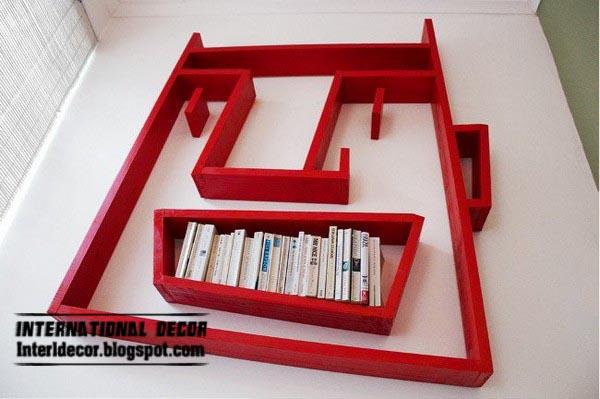 Fun Wall Shelves For Kids Room Fun Bookshelf Design