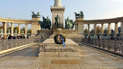 Tomb of the Unknown Soldier Budapest Hungary