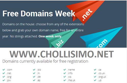 Dominios WEB GRATIS