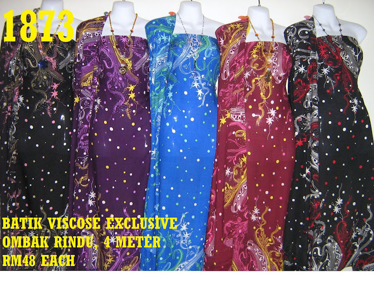 BV 1873: BATIK VISCOSE EXCLUSIVE OMBAK RINDU, 4 METER