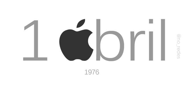 1976: Fundación de la empresa Apple Computer.