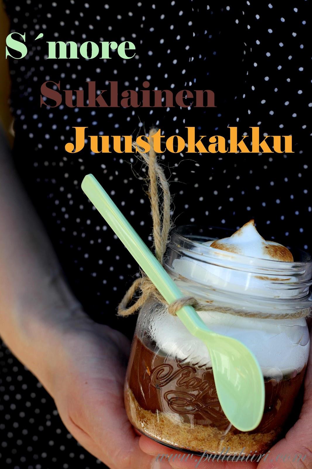 http://www.pullahiiri.com/2013/05/smore-suklainen-juustokakku.html