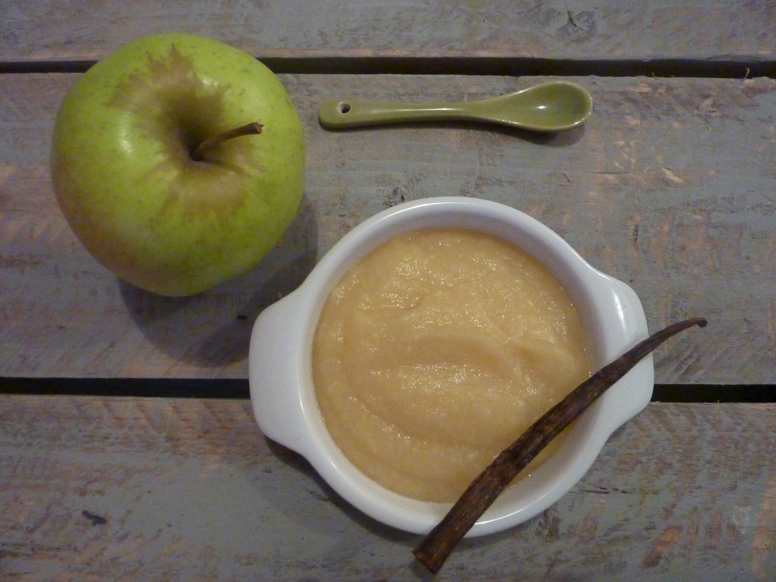 Compote pommes coings et vanille au thermomix mongraind 39 sel - Compote de poire maison ...