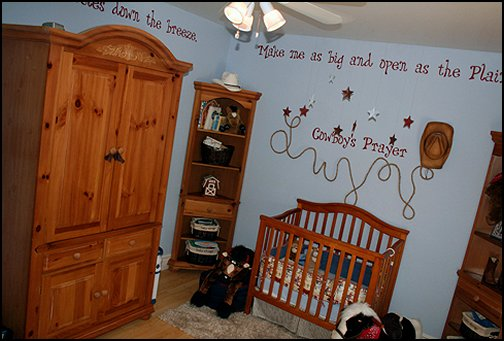 Cowboy Baby Nursery Decorating Ideas Cowboy Silhouette