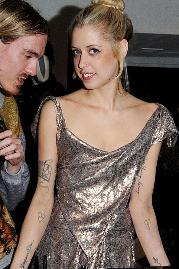 Tattoos Bezz Peaches Geldof Has Over 20 Tattoo