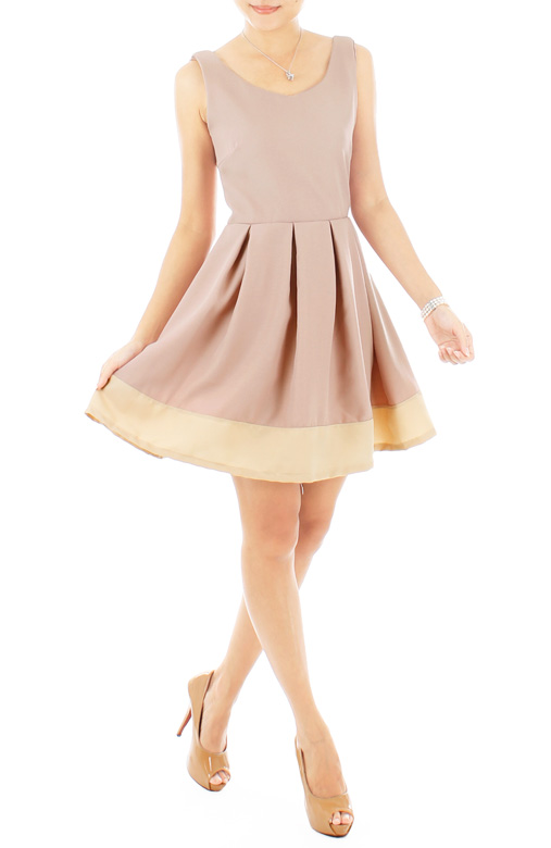 Arabelle Ballet Prom Dress – Mauve Pink