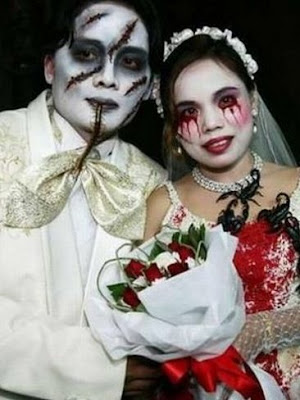 Zombified wedding