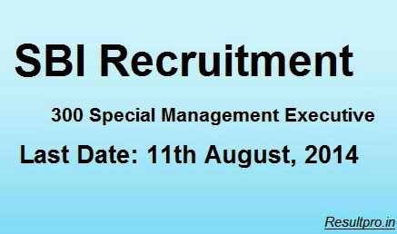 SBI Recruitment 2014