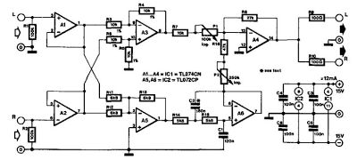 Vocal Eliminator Circuit Diagram