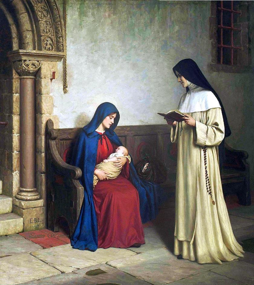 Maximes du  Saint Magistère et des Évêques, Confesseurs, Docteurs - Page 15 Leightonmaternity