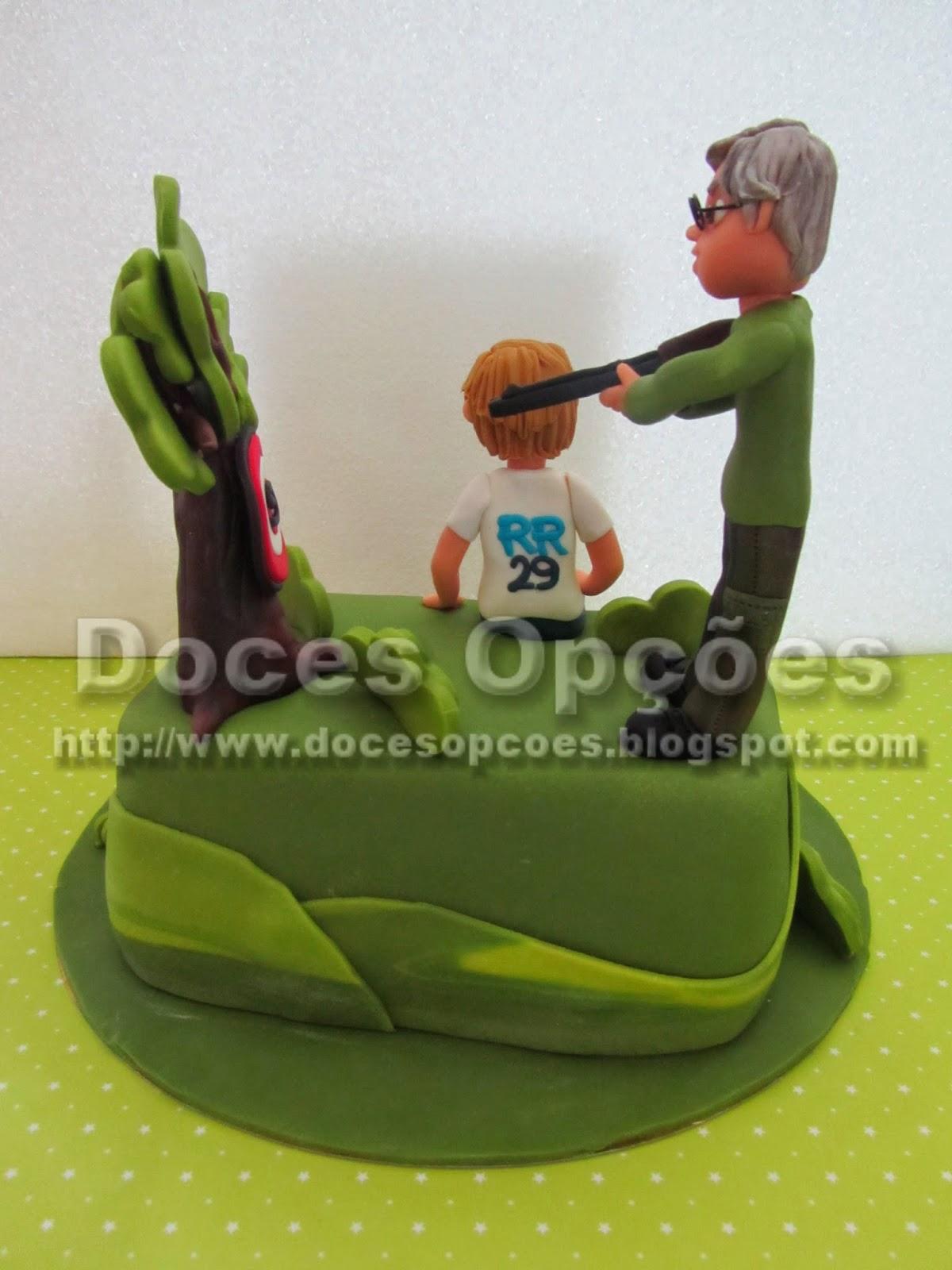 bolo caça bragança