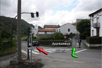 Giramos a la derecha, dirección al Cementerio